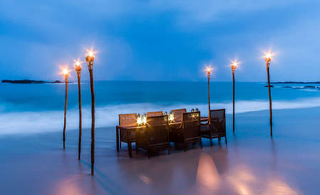 Anantara _ Tangalle _ Peace _ Haven _ beach _ dining _ by _ design