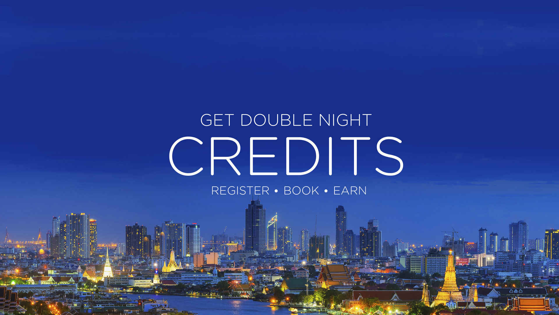 OQ418ALLMBRSDBLPTS - Get Double Night Credits