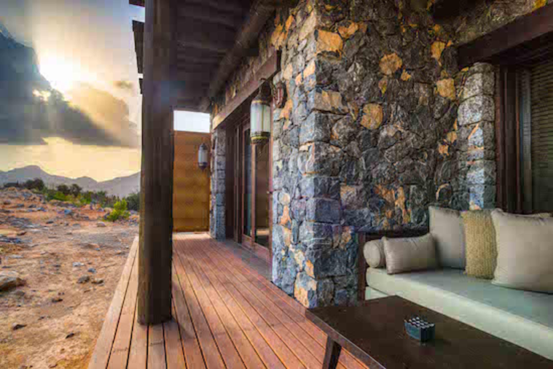 Alila Jabal Akhdar - Horizon View balcony