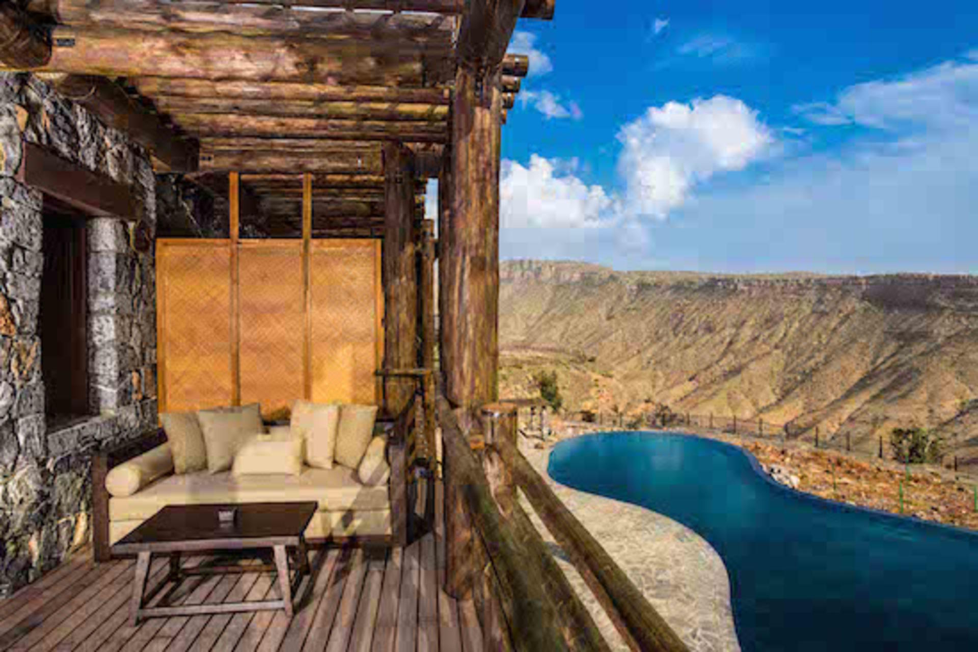 Alila Jabal Akhdar - Ridge View Balcony
