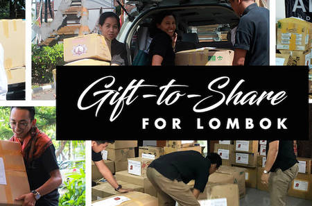 Gift-to-Share for Lombok (GTSL)