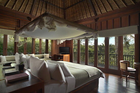 Alila Ubud - Accommodation - Valley Villa - Bedroom 01
