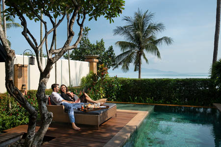 Anantara Bophut - Rooms - Beachfront Pool Suite