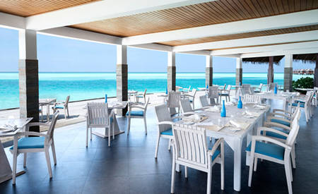 Anantara _ Dhigu _ Maldives _ Resort _ Sea _ Fire _ Salt _ Restaurant