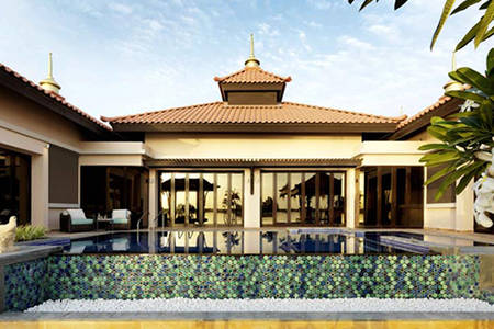 Anantara_Dubai_The_Palm_Resort_Strand-Poolvilla mit zwei Schlafzimmern
