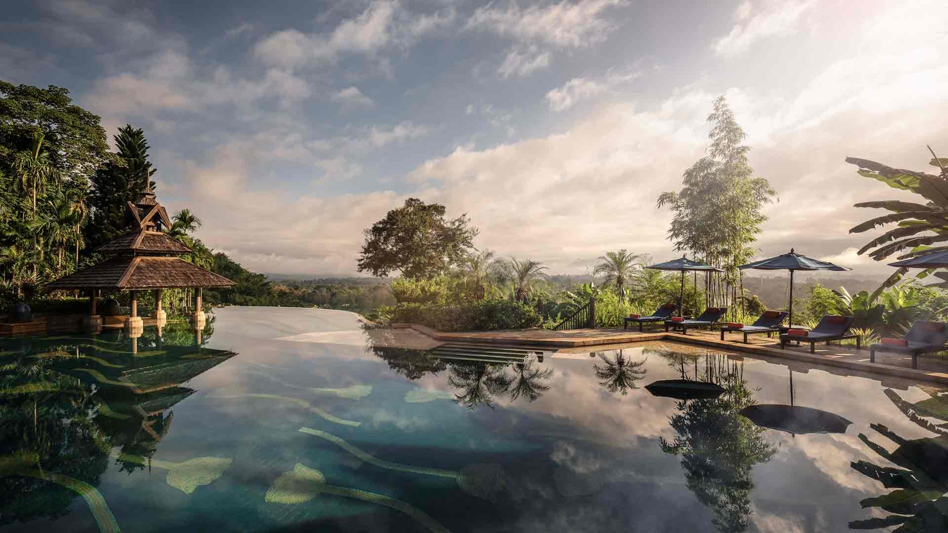 Hero _ Anantara _ Golden _ Triangle _ Pool _ View