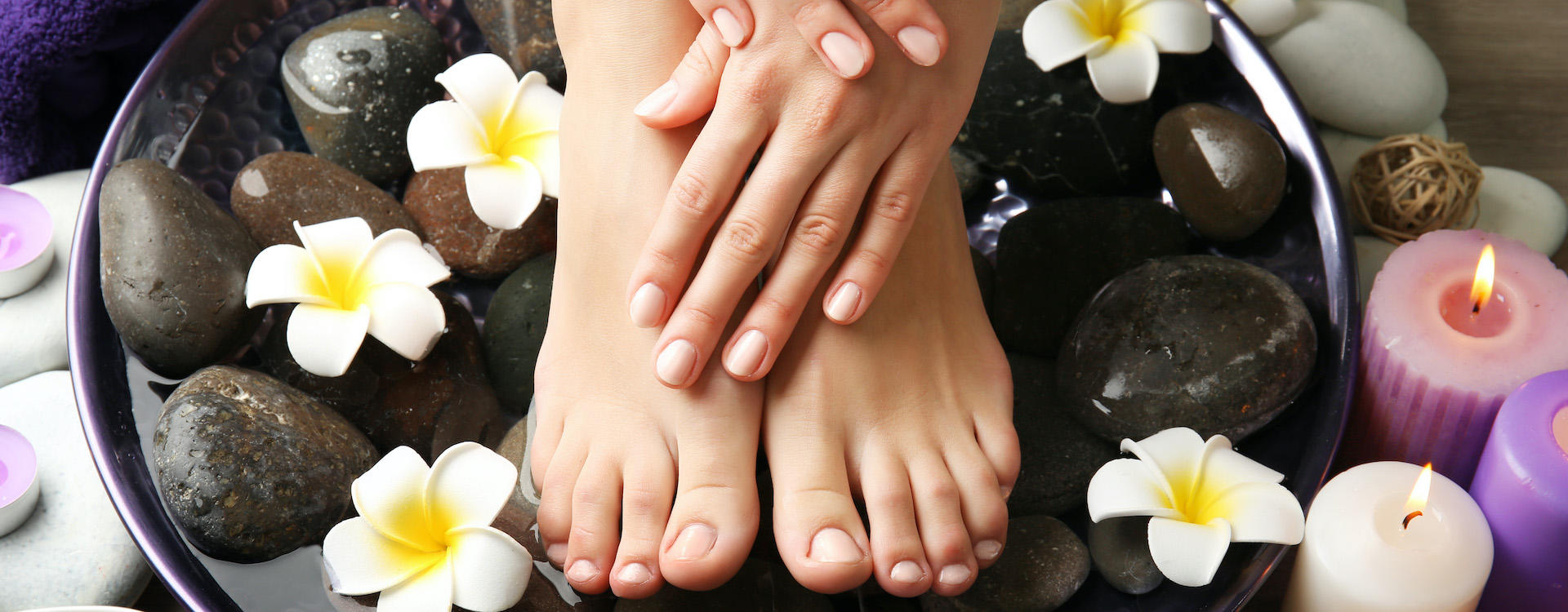 Deluxe Manicure and Pedicure