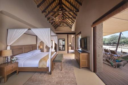 R02 Anantara_Sir_Bani_Yas_Island_Al_Sahel_Villa_Resort_Guest_Room_One_Bedroom_Pool_Villa_Bedroom