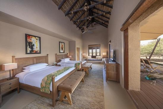 R03 Anantara_Sir_Bani_Yas_Island_Al_Sahel_Villa_Resort_Guest_Room_Two_Bedroom_Villa_Twin_Bedroom