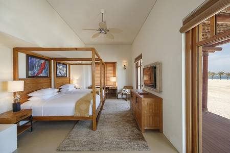 R02 Anantara_Sir_Bani_Yas_Island_Al_Yamm_Villa_Resort_Guest_Room_One_Bedroom_Villa_Bedroom_Twin