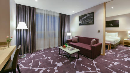 Avani_Central_Busan_Bedroom_Living_Room