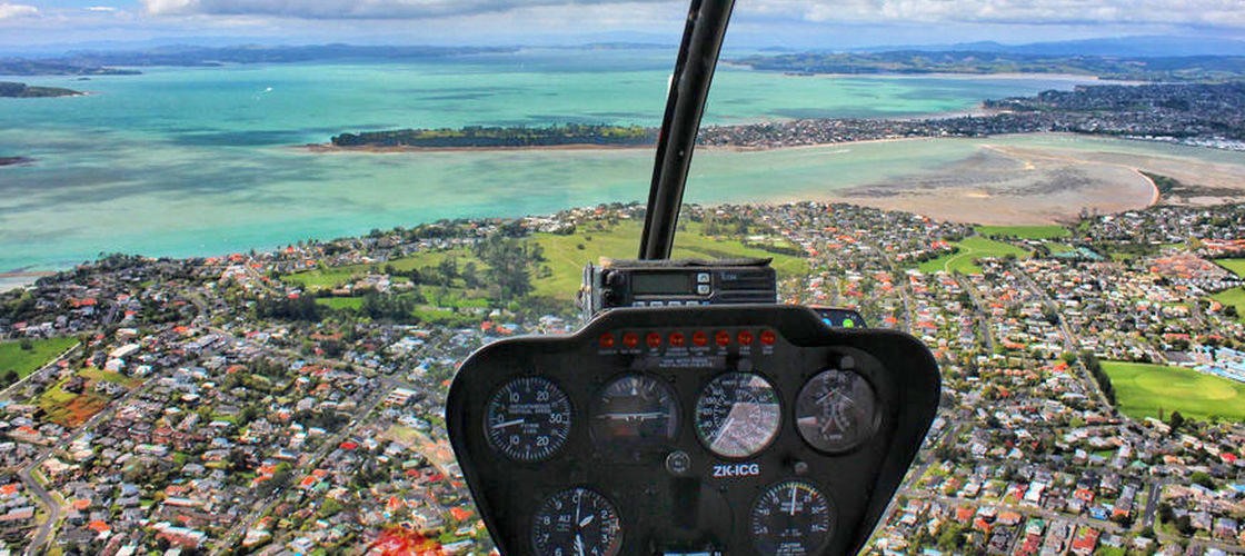 15 Minute Volcanoes and Beaches Helicopter Flight
