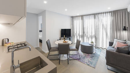 AVANI Central Melbourne Residence_ 2BedroomSuperiorSuite_Lounge