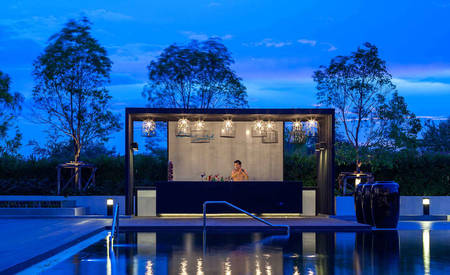 AVANI_Khon_Kaen_Hotel 与 Convention_Centre_Breeze_Pool_Bar