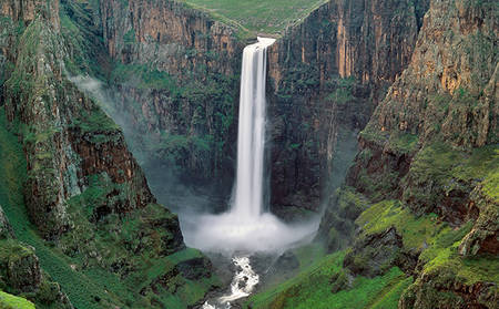 AvaniMaseru_Waterfall