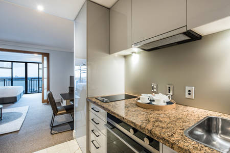 AVANI Metropolis Auckland​_One Bedroom Suite_Kitchen