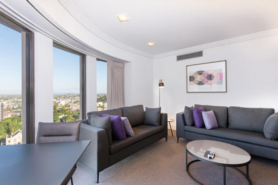 AVANI Metropole Auckland _Two Schlafzimmer Suite_Living