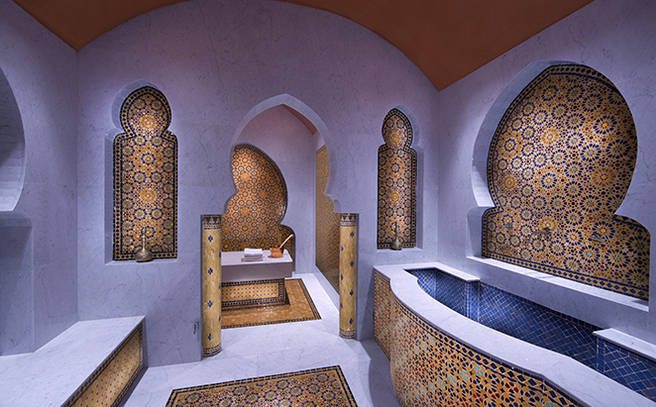 Traditional Moroccan Hammam Souq Waqif Boutique Hotels