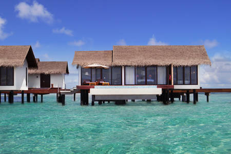 Cenizaro_ResidencesMaldives_One — — — — 水 — — — — 别墅