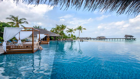 Cenizaro_ResidencesMaldives_Pool — — 小屋