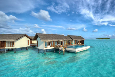 Cenizaro_ResidencesMaldives_Two — — — — 水 — — — — 别墅