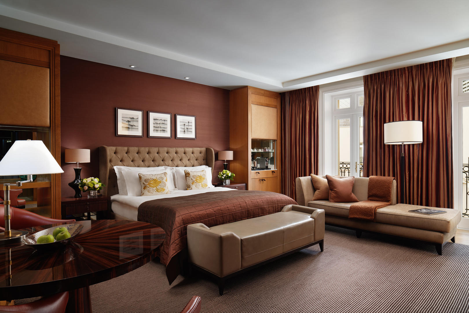 Deluxe Junior Suite neue Einstellung Corinthia Hotel London