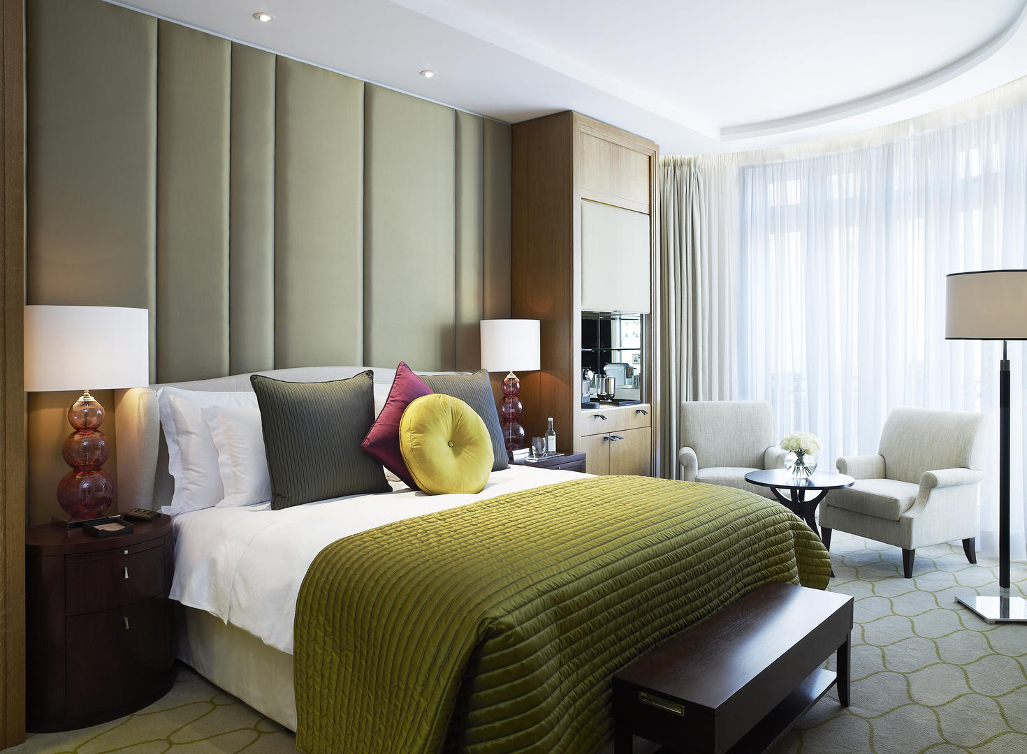 Deluxe room new shot Corinthia Hotel London