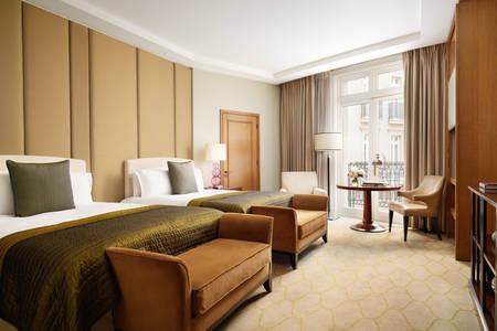 Corinthia London Hotel Family room