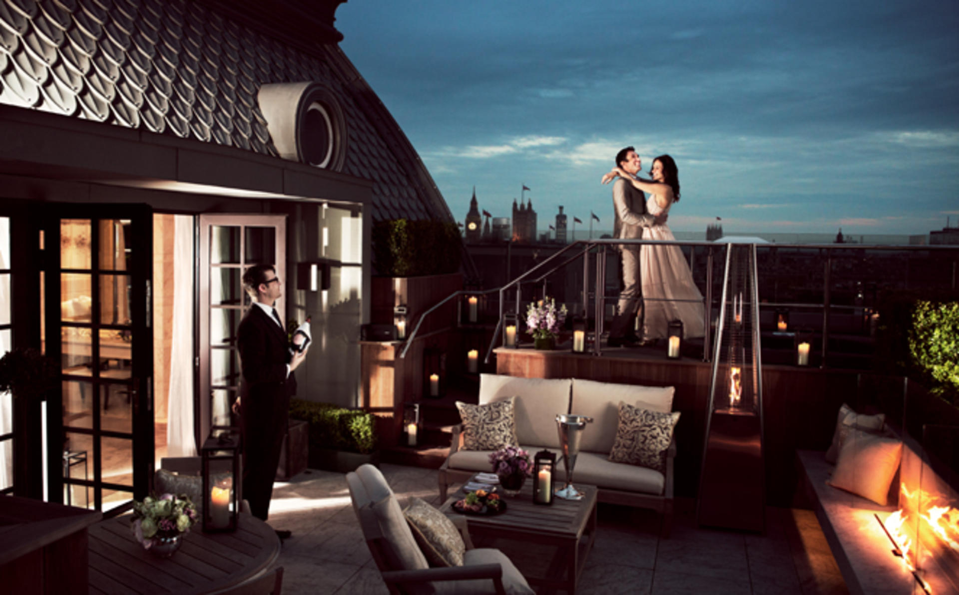 Corinthia_London_Roof — — 之巅 — — 餐饮
