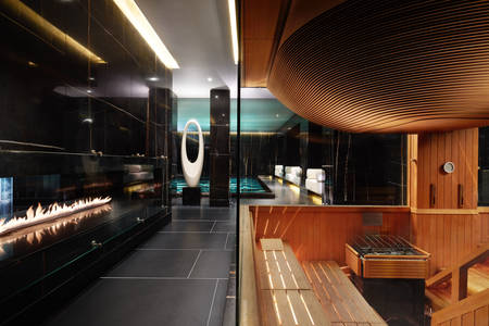 Corinthia Hotel London sauna