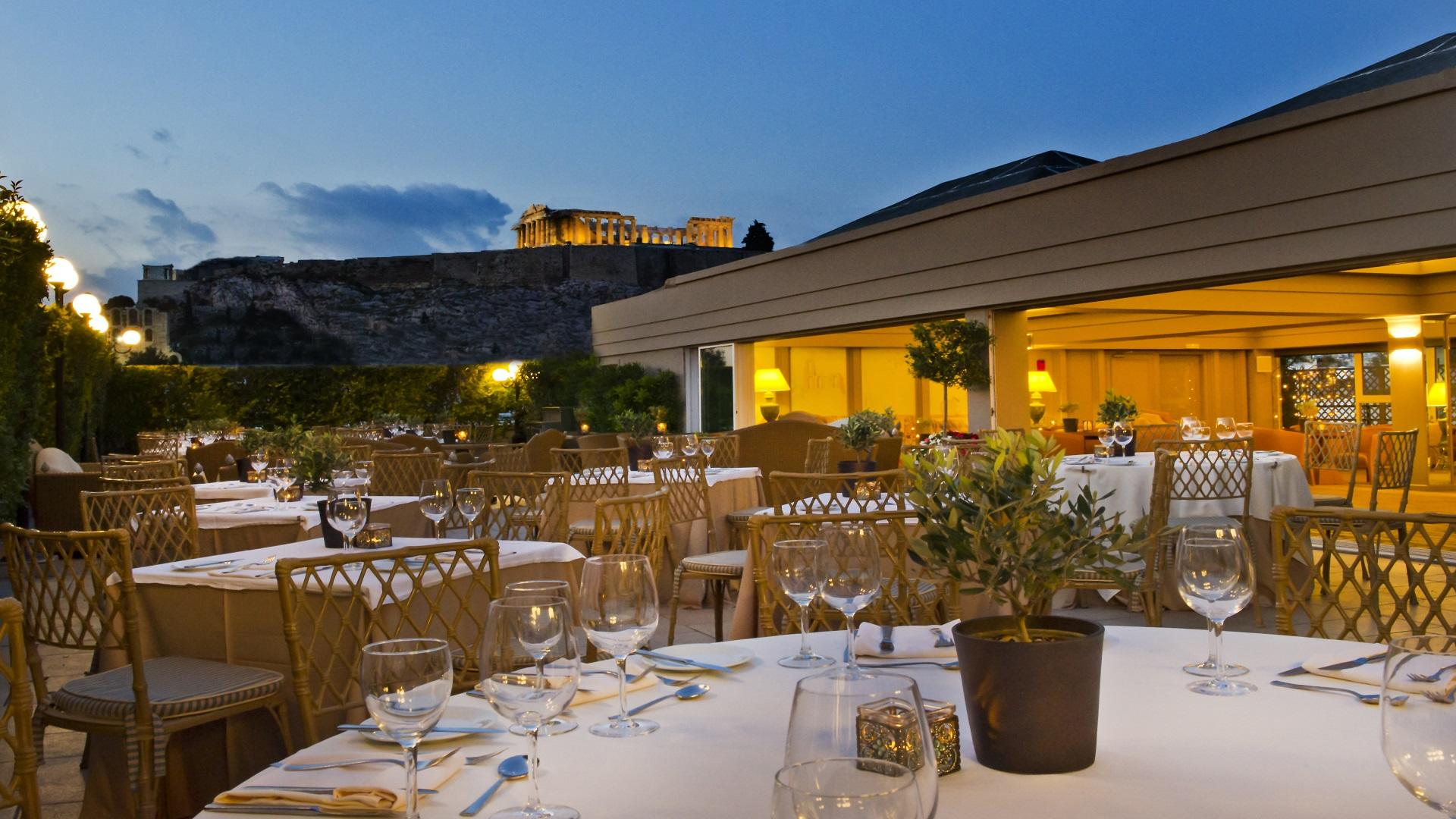 Fine Dining Experience at Secret Roof Garden restaurant
