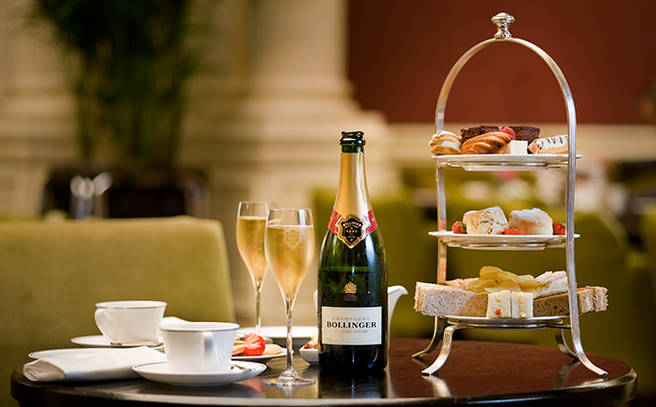Champagne Afternoon Tea For Two Global Hotel Alliance