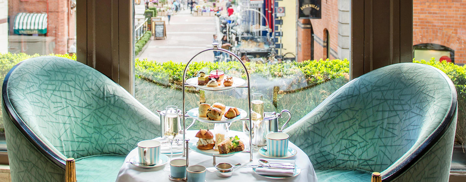 Champagne Afternoon Tea on The Gallery