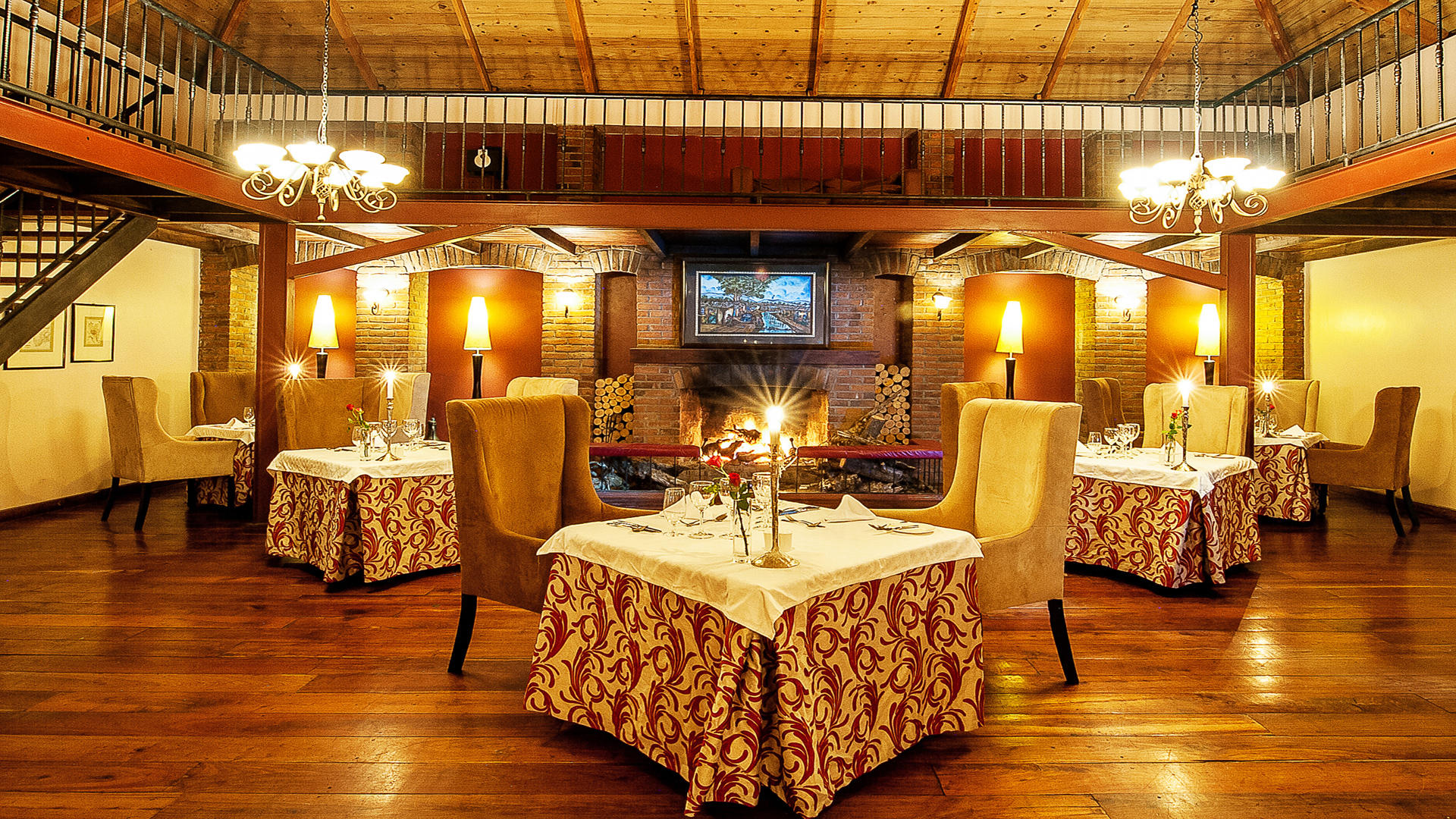 Arusha Coffee Lodge---Restaurant-Interieur