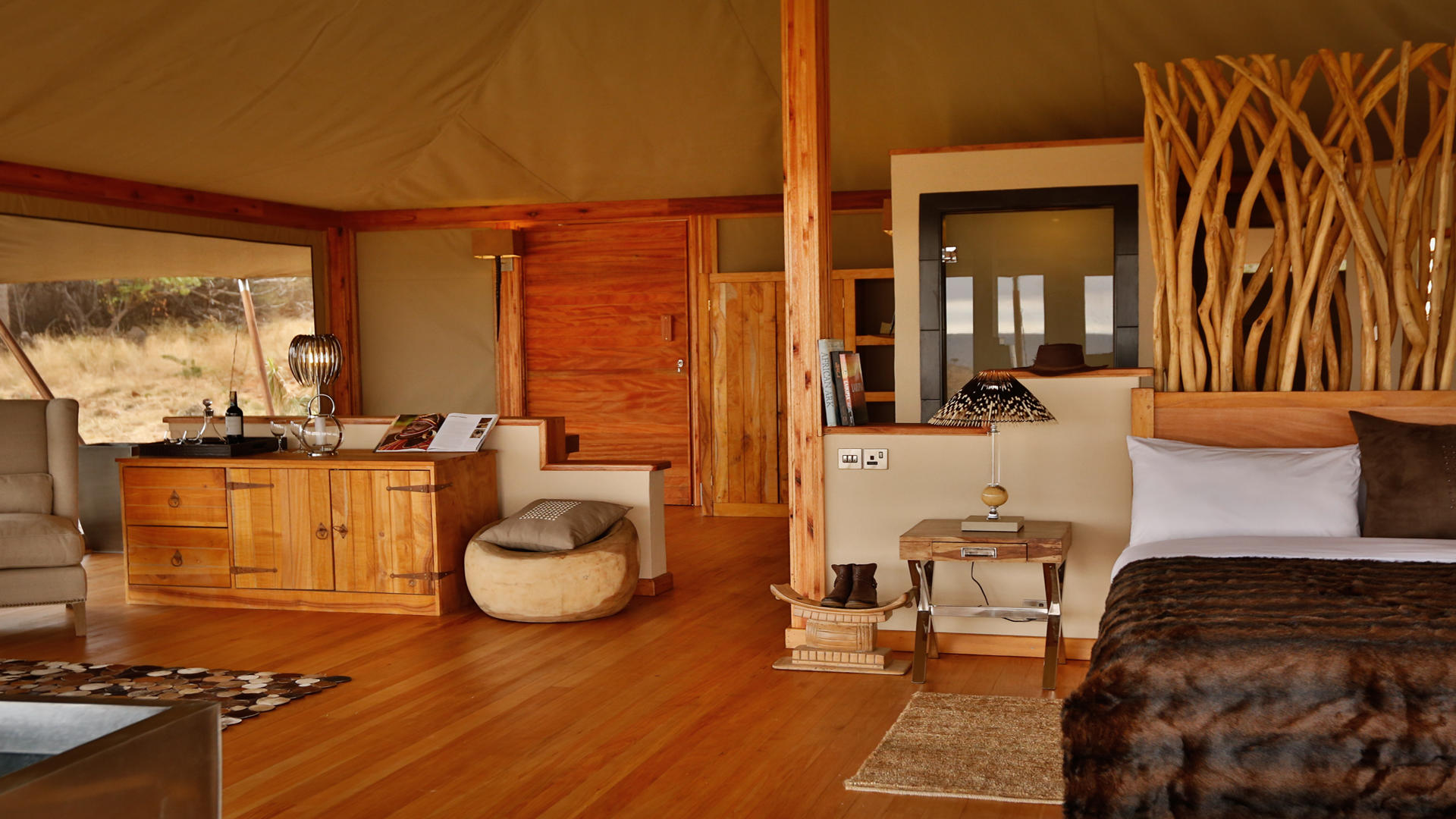 Loisaba-Tented-Camp---tent-interior---7