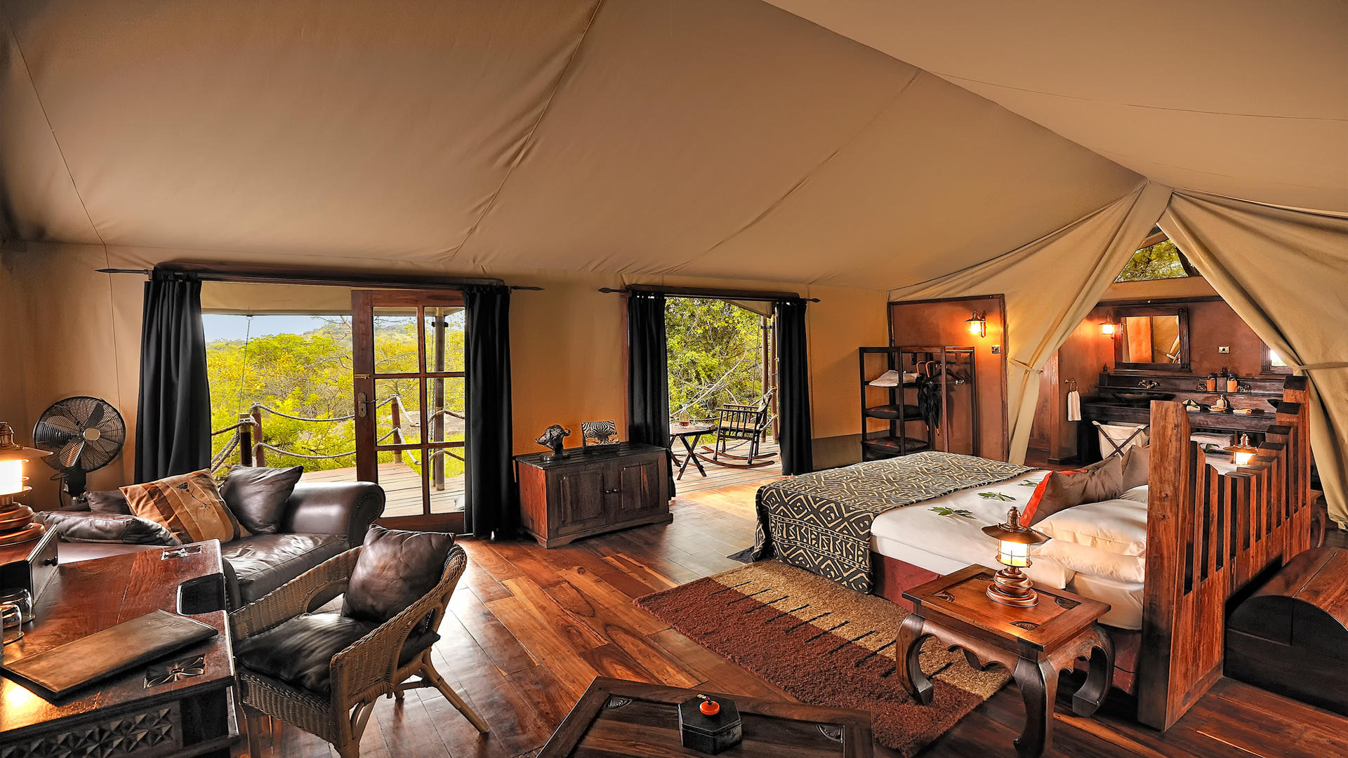 Serengeti-Migration-Camp---Bedroom-Tent---Interior-2