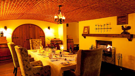 The-Manor-at-Ngorongoro---Dining---Wine-Cellar
