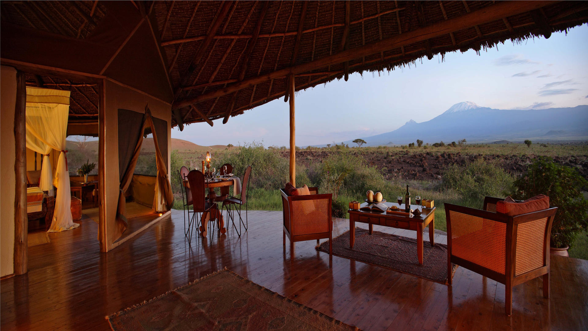 Tortilis-Camp-Amboseli---Private-House---Views