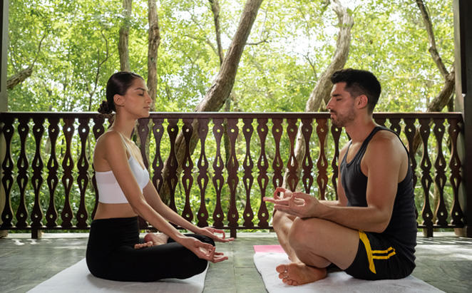 1 Hour Private Yoga Session for two