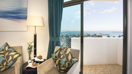 JA Jebel Ali Beach Hotel _ Family Sea View Room 1