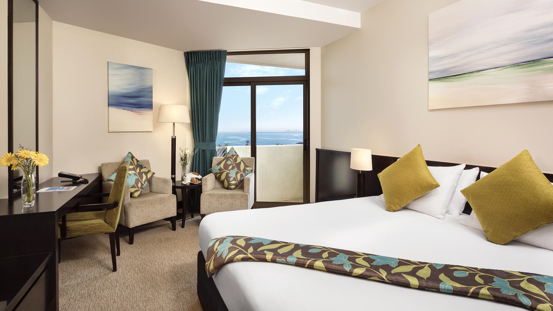 JA Jebel Ali Beach Hotel _ Family Sea View Room2