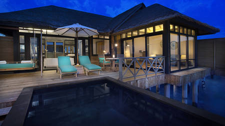 JA Manafaru_Sunset Water Villa with Infinity pool2