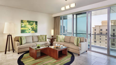 JA Oasis Beach Tower_2 bedroom Deluxe Apartment_Living Room_Gallery