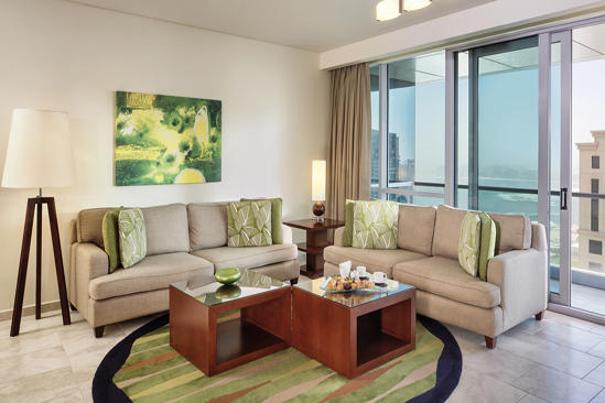 JA Oasis Beach Tower_2 bedroom Deluxe Premium Apartment_Living Room
