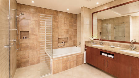JA Oasis Beach Tower_3 or 4 bedroom Apartment Master Room Bathroom_Gallery