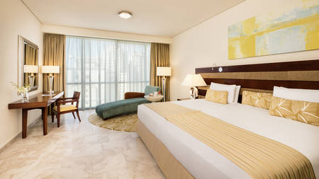 JA Oasis Beach Tower_4 bedroom Deluxe Apartment Master Bedroom_Gallery