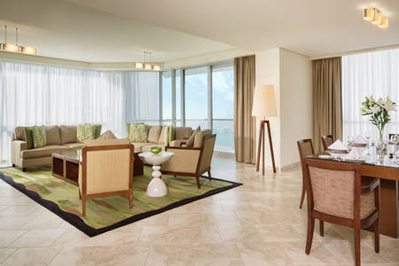 JA Oasis Beach Tower_4 bedroom Premium Apartment Living Room