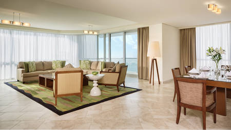 JA Oasis Beach Tower_4 bedroom Premium Apartment Living Room_Gallery