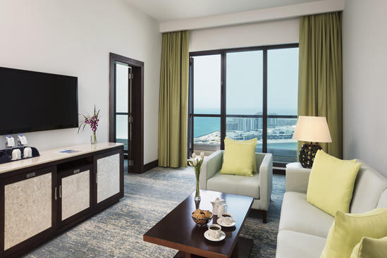 JA Ocean View Hotel_Family One Bedroom Suite - 3