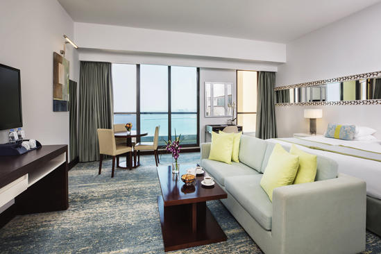 JA Ocean View Hotel_Sea View Junior Suite - 2